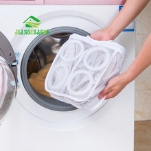 JiangChaoBo Fine Mesh Wash Bag Cleaning Shoes Special Washing Machine Laundry Net Thickening