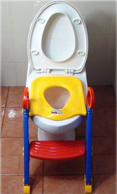 ФОТО Promotion 1pcs Toilet Training Seat Potties Children Toilet Training Ladder Bambino