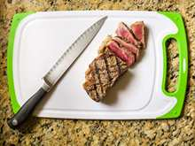 3pcs/Set Antibacterial Chopping Board Multifuction Non-slip Wearable PP Cutting Board Vegatable Meat Cutting Board