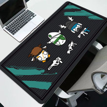 Sovawin Rainbow Six Siege Mouse Pad Karet 800X300 Mm Super Besar Bantalan Komputer Mouse Gaming Keyboard Mat XL untuk Meja Laptop PC(China)