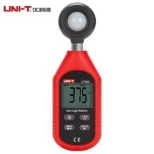 UNI-T UT383 200,000 Lux Digital Iluminómetro Luminometer Fotómetro Luxómetro Mini Medidor de Luz con Retroiluminación LCD
