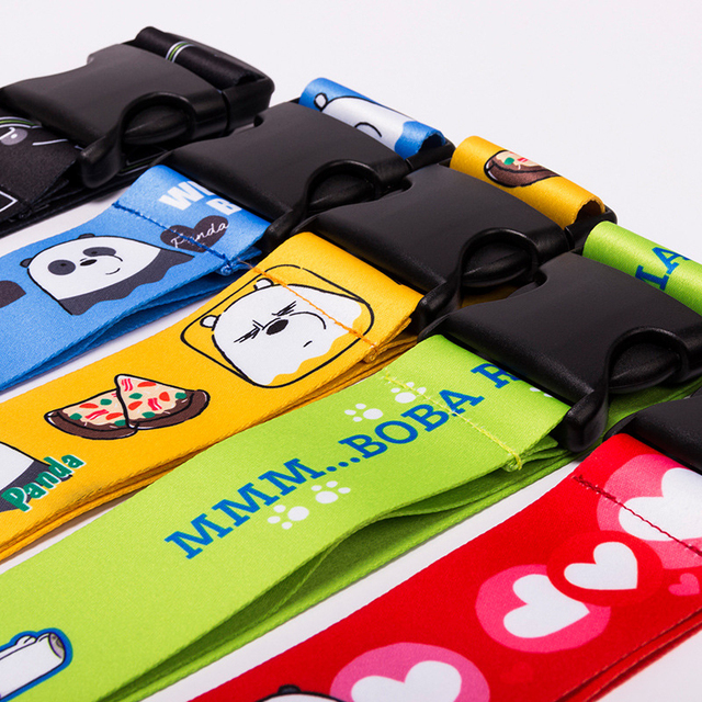 BUCHNIK Cartoon Fixed Luggage Strap Suitcase Belts Travel Accessories PP Fabrics Adjustable Seat Belt Suitcase Parts Supply Item