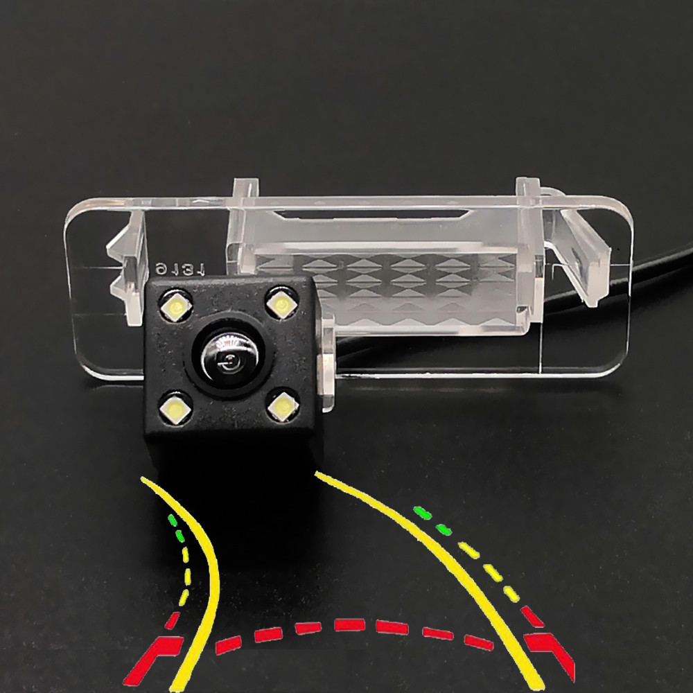 170D Intelligent Dynamic Trajectory Tracks Car Rear View Camera For Mercedes-Benz C Class W202 4D Sedan/Smart Fortwo 2007-2014