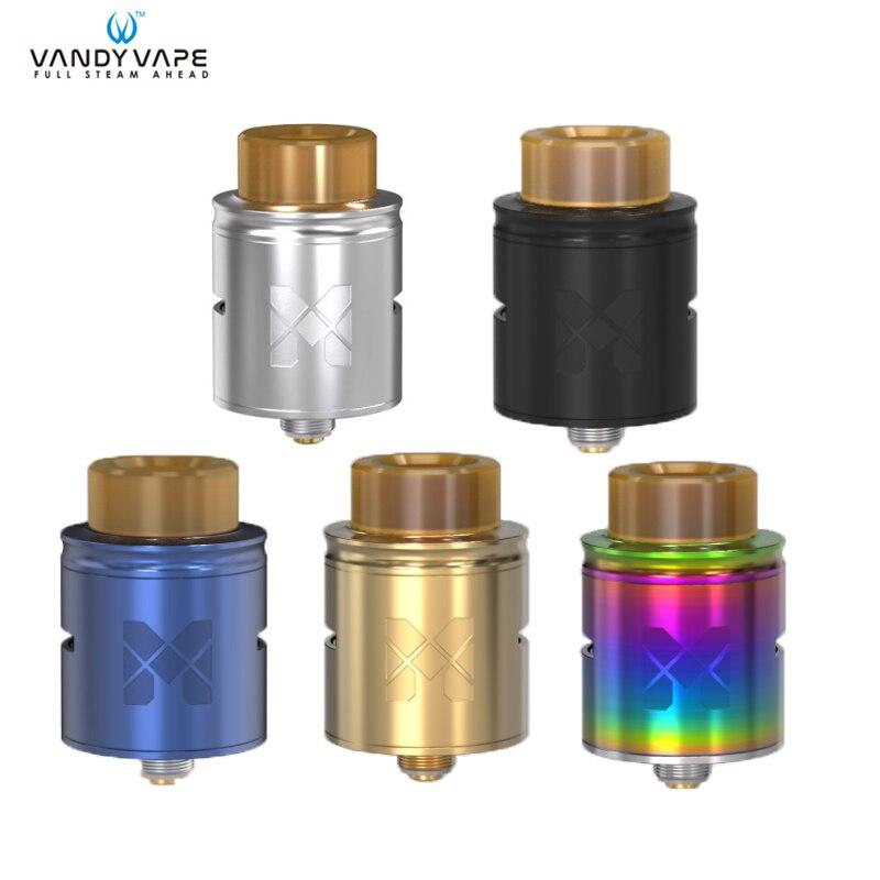 D'origine Vandy vaporisateur Maille RDA Réservoir vaporisateur 1 ml 25mm fit maille bobine fil Core pour tous les 510 boîte pour bobines de fil mod Vaporisateur Vaporisateur E Cig