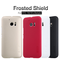 10pcs Lot Wholesale NILLKIN Super Frosted Shield Case For HTC M10 HTC 10 Lifestyle Htc 10