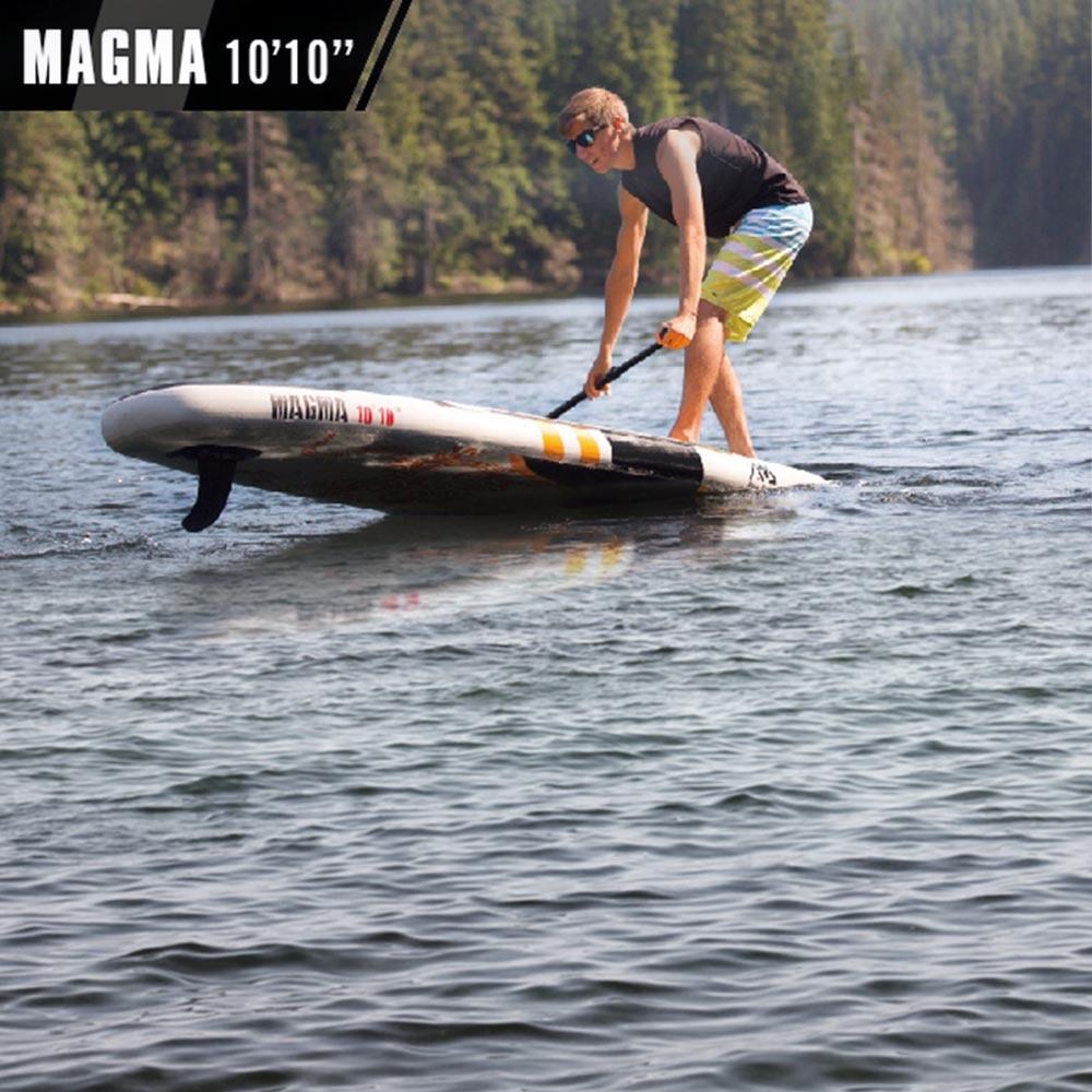 АКВА МАРИНА Магма 10'10 BT 17MA надувная доска для серфинга надувная доска sup с педалью управления sup доска
