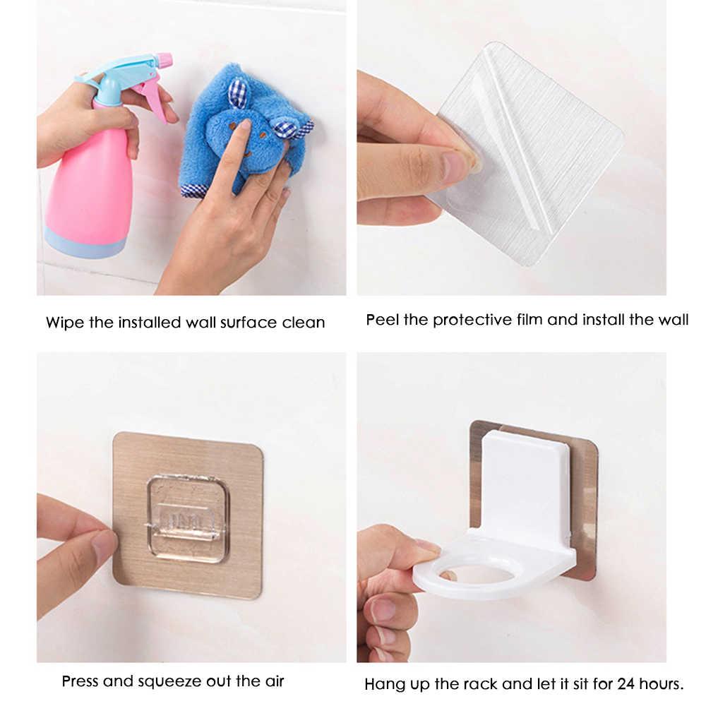 Moda łazienka szampon żel pod prysznic wieszak ręczny mydło szampon organizator Hook-bezpłatny półka kuchenna
