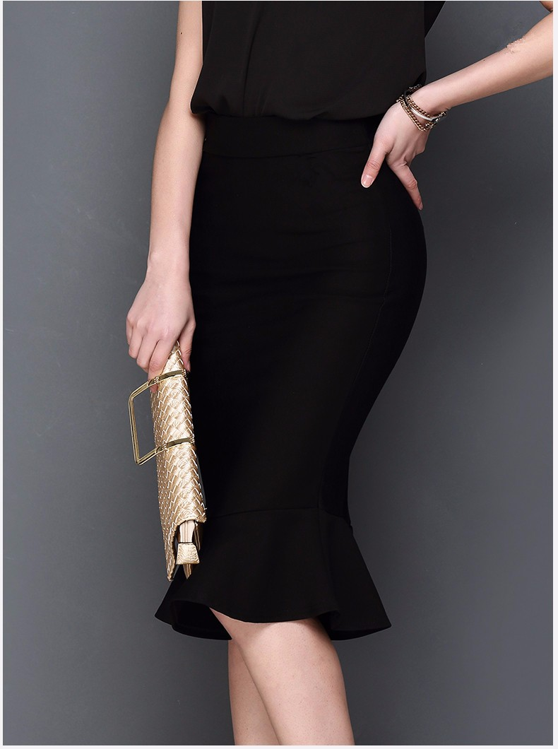1b6a7d8739 NEW 2016 Fashion Women Slim Skirts Fitted Knee Length Pencil Skirt ...