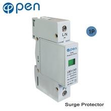купить OPEN LBO-C40 Series Household SPD Surge Protective Device 1P 20kA-40kS 380VAC/385VAC Low Voltage Arrester Device Protector дешево