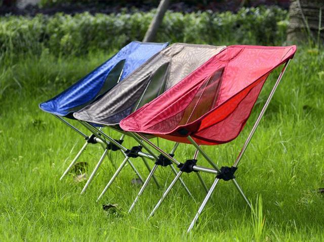 Peso leggero portatile pieghevole sgabello da campeggio sedia