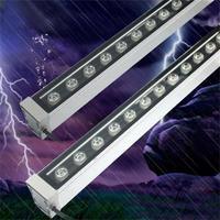 High Power LED Wall Washer Lamp IP65 Spot Exterieur Polished Steel Buiten Lamp Outdoor Wall Floodlights 12W Luminaria de Parede