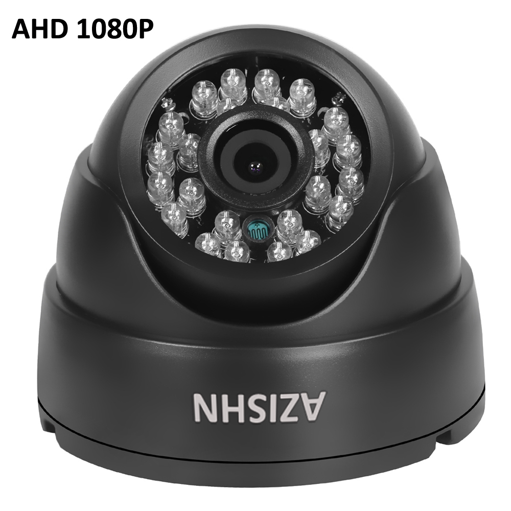 AHD Camera 1080P  FULL HD 1920*1080 AHDH 24 IR LED 3.6MM lens  Indoor Dome  CCTV Surveillance Camera IR Cut Filter 4 in 1 ir high speed dome camera ahd tvi cvi cvbs 1080p output ir night vision 150m ptz dome camera with wiper