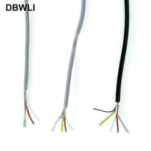 2 3 4 core shielded wire UL 25