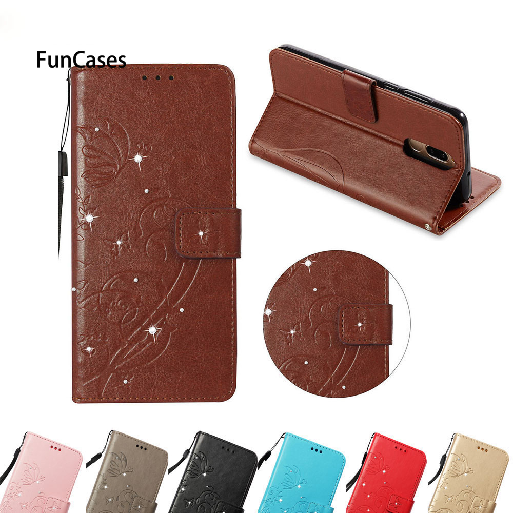 For HUAWEI RNE-L22 Nova2i 2i RNE-L02 Rhinestone Embossing Pattern Phone Case Covers For HUAWEI Nova 2i 5.9