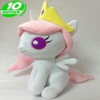 Yeni Pamuk Peluş Oyuncaklar Mini S Versiyonu Prenses Celestia Prenses Luna Prenses Ahengi