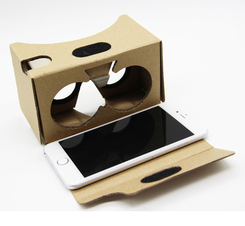 Sannysis 2017 New Arrival virtual reality For Google Cardboard V2 3D <font><b>Glasses</b></font> <font><b>VR</b></font> Valencia <font><b>Max</b></font> Fit 6Inch for iPhone SmartPhone