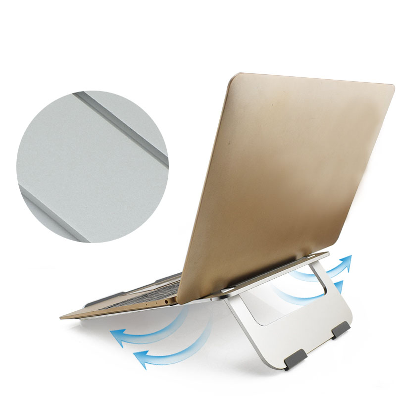 Tablet Stand Aluminium Alloy Notebook Cooling Stand For Tablet Accessories Holde