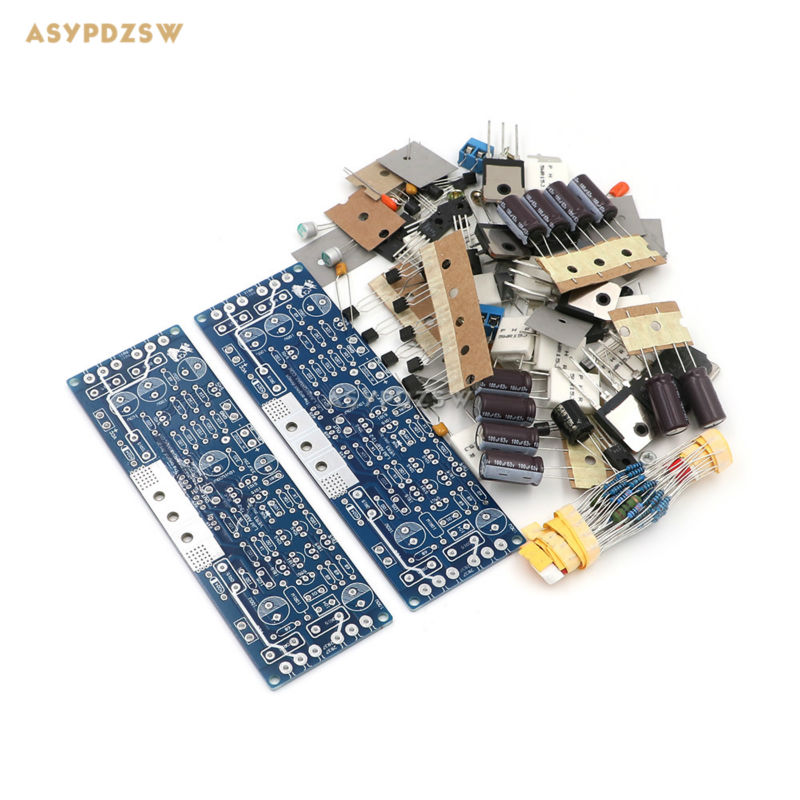 2 PCS Audio L12 2 power amplifier Kit 2 Channel ultra low distortion amplifier classic AMP