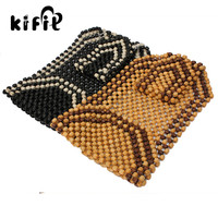 KIFIT Practical Universal Beaded Wooden Car Van Taxi Front Massage Seat Office Chair Cover Cushion For