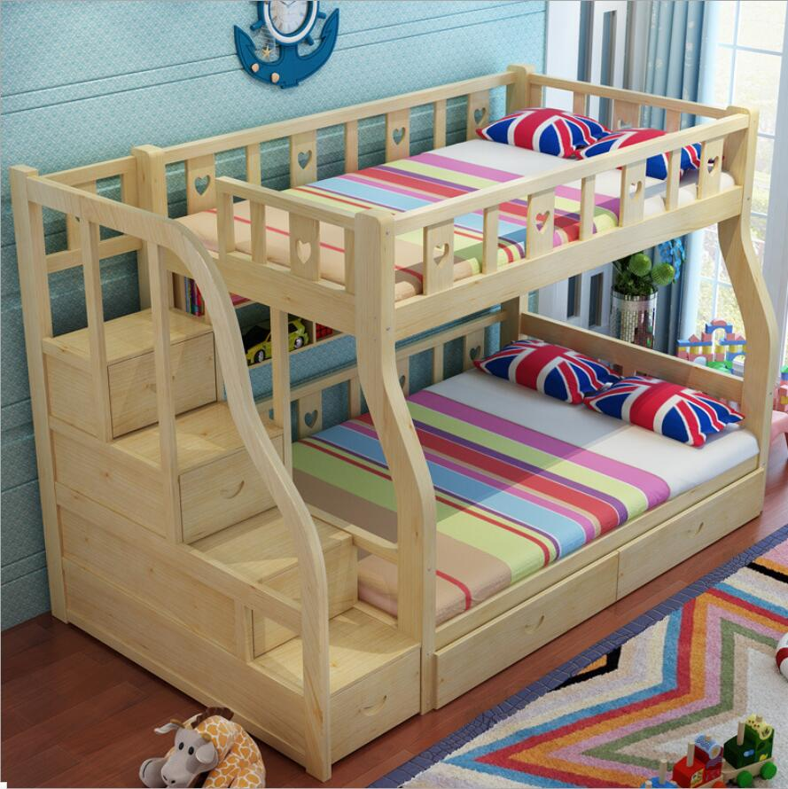 compact bunk bed quad screen at home product beds shot kids funtime
