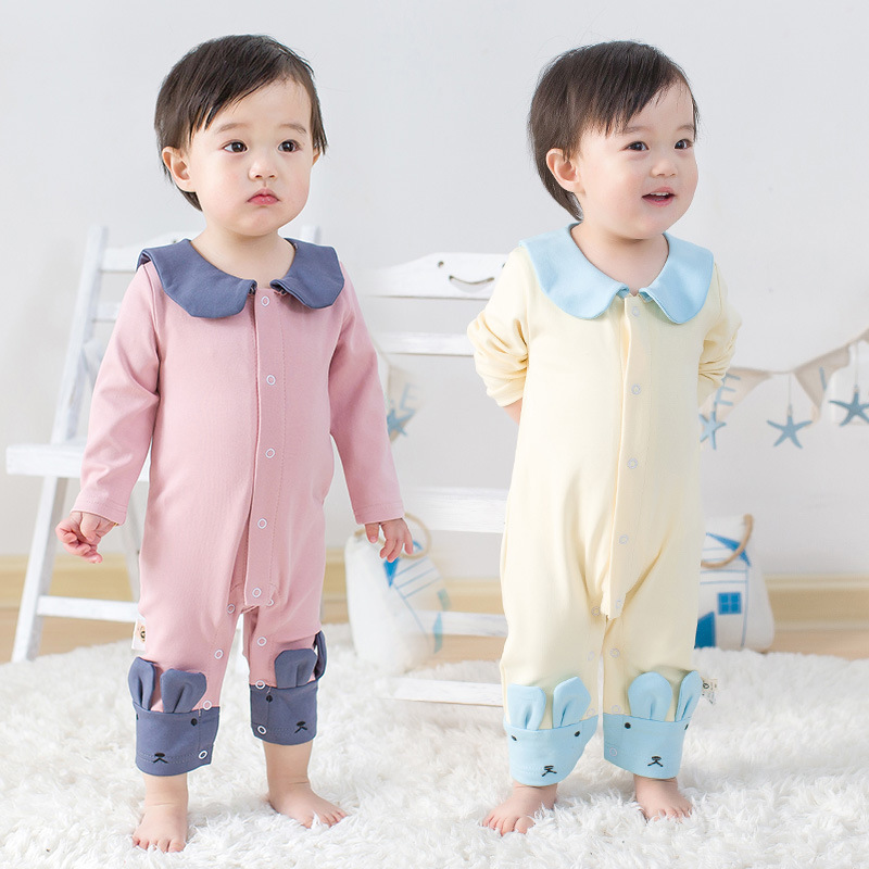 2017 Baby Fashion Newborn Baby Girl Boys Long-Sleeve Cotton Printed Spring/Autumn Infant Jumpsuit Body Rompers Outfits Clothes newborn baby girl boy clothes rompers long sleeve cotton jumpsuit outfits infant kids boys girls costume pokemon pikachu child