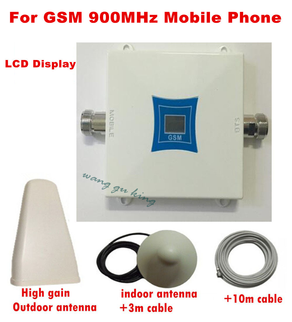 FULL SET GSM 2G 900 MHZ Mobile Phone Signal Amplifier GSM Repeater, Signal Booster GSM Booster