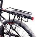Soporte de bolsa de sillín para bicicleta, soporte para equipaje de bicicleta, estante trasero de carga, estante de sillín para bicicletas de 20-29 pulgadas con herramientas de instalación