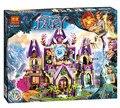 809 unids BELA amigos 10415 Compatible de serie Elfos Skyra lepin Misterioso Castillo Cielo Kit de Construcción de bloques de ladrillo Elfos 41078