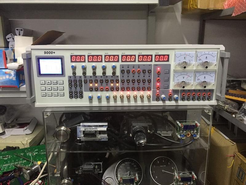 Auto capteur simulateur mst-9000 mst 9000 + automobile capteur simulateur testeur voiture ecu réparation outil pour 110v 220v