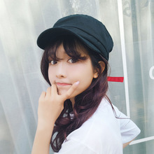 Korean Vintage Fashion Summer Autumn Beret Caps Personality Solid Color Fishing Hats For Women Causal Gorras Mujer Fishing Hats