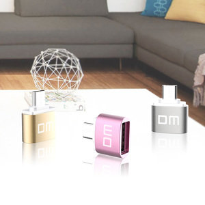 Image 5 - Adaptador DM OTG B función OTG convertir USB normal en teléfono USB Flash Drive adaptadores de teléfono móvil