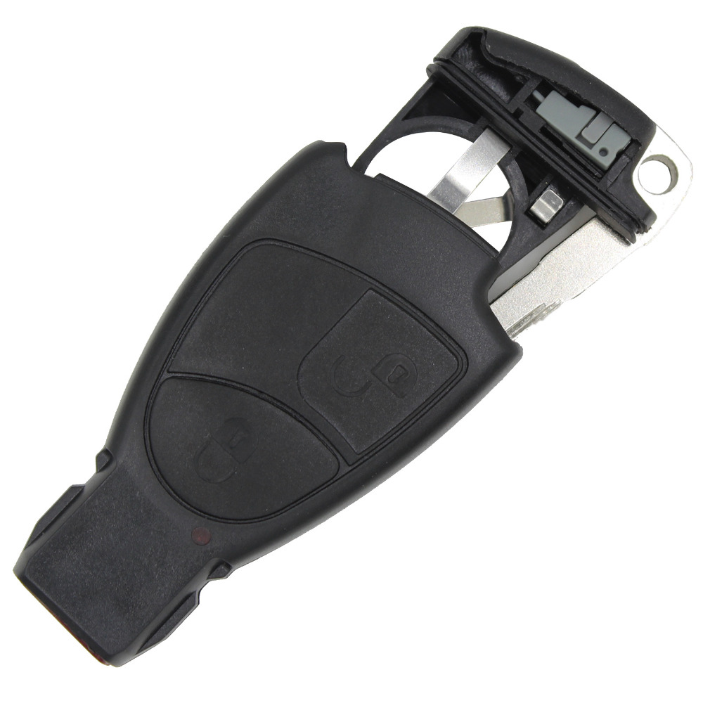 REPLACEMENT 2 BUTTONS SMART REMOTE KEY CASE SHELL FOR BENZ