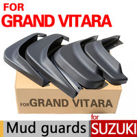 High Quality Mud Flaps For Suzuki Grand Vitara Accessories Mud Guards 2006 2014 2007 2008 2009