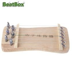 Beatbox Mini Guzheng Gitar Jari Pelatihan Perangkat Alat Latihan untuk Pegangan Alat
