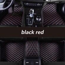 kalaisike Custom car floor mats for Toyota All Models land cruiser prado camry rav4 corolla highlander yaris venza prius Alphard