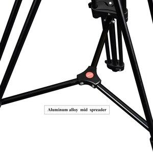 Image 4 - حامل ثلاثي للفيديو محمول احترافي من الألومنيوم من miliboo مع رأس هيدروليكي كاميرا رقمية DSLR حامل ثلاثي القوائم أفضل من manfrotto