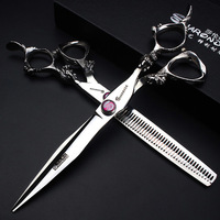 7 inch Cats Hair Cutting hair cutting scissors Animal scissors Hairdressing Pet Scissors dog scissors