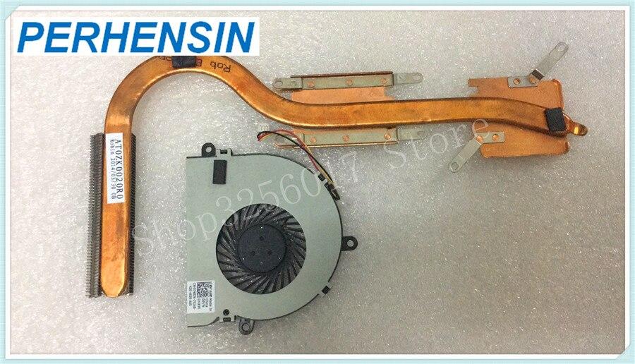 Для DELL INSPIRON 15R 5537 3537 LATITUDE 3540 радиатор процессора W FAN CX00W AT0ZK0020R0 74X7K 074X7K