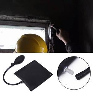 Image 5 - 車エアバッグドアポジショニングクッション黒調節可能な交換自動