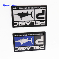fashion PVC patches for clothes custom PVC label in garment labels sew on bages private label customized