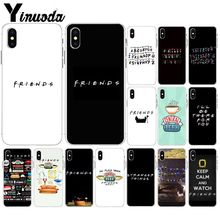 Yinuoda Central Perk Coffee friends tv show Soft Silicone TPU Phone Cover for Apple iPhone 8 7 6 6S Plus X XS MAX 5 5S SE XR