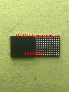 Image 1 - 10 cái/lốc Cho iPhone 5 S 5c Diện Màn Hình Cảm Ứng IC U15 343S0645 màu đen