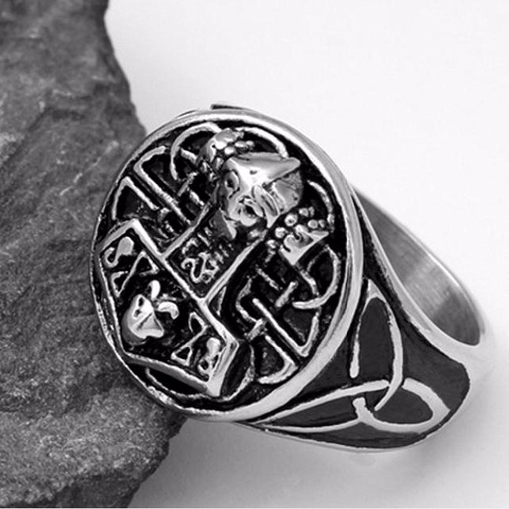 Bague ancre Thor  3