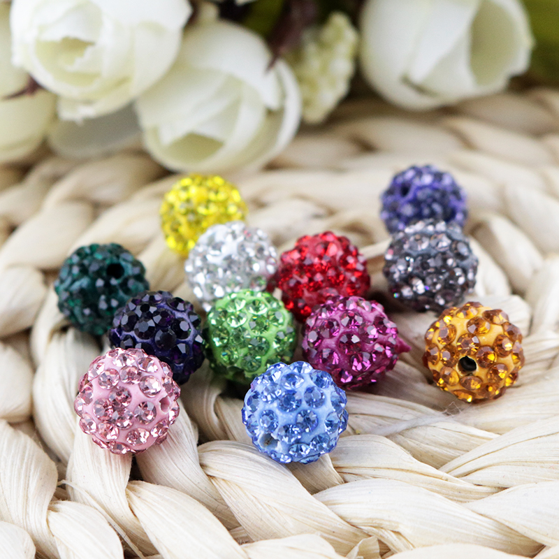 Buy Cheap Free Shipping 100pcs Lose Money Sale Mixed Balla Beads 10mm Ab Clay Crystal Balla Disco Pave Crysta Balls Diy Bracelet Pendant Excellent In Quality