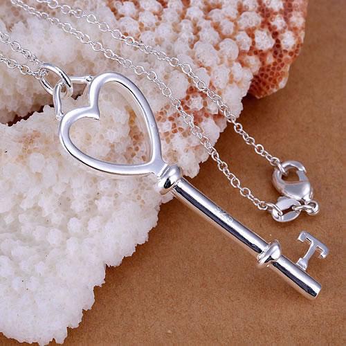 Señora corazón de acero inoxidable remolques /& cadena grabado la letra pata ID color plata