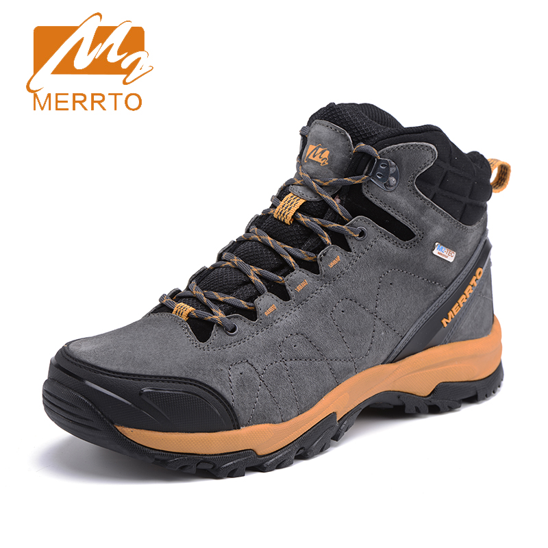 2017 Merrto Mens Outdoor Sports Shoes Breathable Hiking Boots Waterproof Walking Shoes For Male Gray Blue Free Shipping MT18636 игрушка ecx ruckus gray blue ecx00013t1