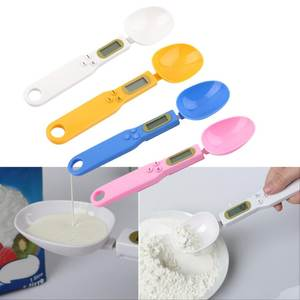 Spoon-Weight-Scale Butter-Flour Measuring-Spices Kitchen-Lab Digital Food Electronic