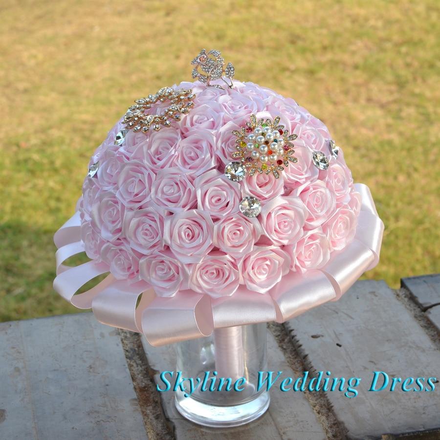 Wedding Flowers Light Pink Bridesmaid
