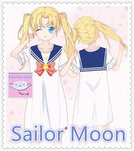 Can not sailor moon couples costume right! seems