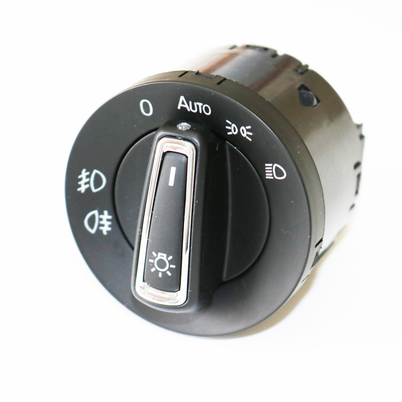 DAZOO Updated Chrome Auto Headlight Switch With Sensor L C Function for V W Golf 7